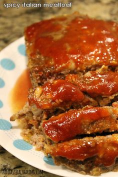 Meatloaf Spicy Italian Meatloaf // Regular old meatloaf should move over! This spicy sausage meatloaf blows it out of the water.Spicy Italian Meatloaf // Regular old meatloaf should move over! This spicy sausage meatloaf blows it out of the water. Meatloaf Recipe With Sausage, Spicy Italian Sausage Recipe, Pork Meatloaf, Italian Meatloaf, Meatloaf Recipes, Recipes With Spicy Sausage, Ground Italian Sausage Recipes, Spicy Recipes, Recipes