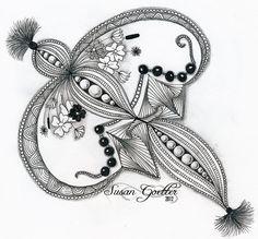 Коллекция картинок: Дудлы (каракули), танглы и зентанглы, часть 1