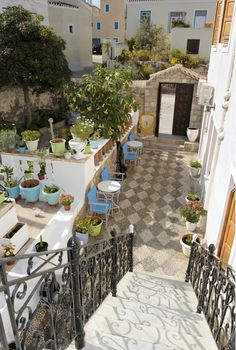 Spetses, Greece. we stawyed at this B and B last October. a really lovely place with friendly owners and a great outside space