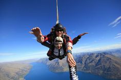 Rubie Ji @Rubie_Babie  ·  Apr 3 1st ever skydiving at 15000ft~ love Queenstown~ @Nzone Skydive Wonderful experience~ will definitively do it again~