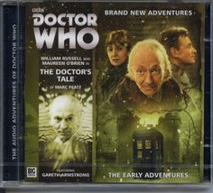 Dr Doctor Who The Early Adventures The Doctors Tales Audio CD Mint 1st Doctor | eBay
