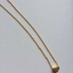 16K Gold Plated Heart Necklace by Sunray Jewels on Opensky #jewelry