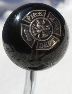 A very unique Fire Department shift knob, perfect for the firefighter in your life........