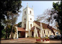 A Church at Kottayam (Kerala, India)
