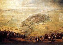 1558 - Sitio de Gravelinas, donde se produjo la Batalla de Gravelinas, con una victoria española sobre las tropas francesas que obligó al rey francés a firmar la paz y desistir de invadir Italia.