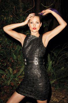 Kate Moss  #harpersbazaar #chic #fashion #katemoss #versace #editorial