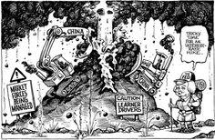 KAL's cartoon August 29th #Cartoon #Graphic #Cartoonart #Economist #Satire