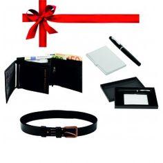 Set cadou - portofel si curea piele naturala, set pix si portvizit Accessories, Jewelry Accessories