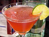The holidays are rolling around again, so why not take a break with a Cranberry Martini?