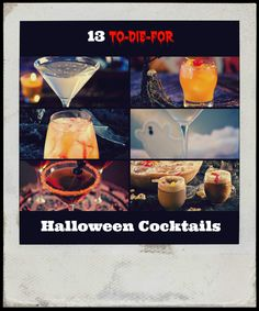 13 to-die-for Halloween cocktails