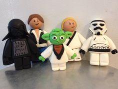 Lego Star Wars cake decor