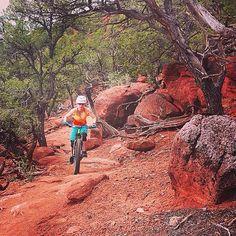 Epic mountain biking on #RedHill. Carbondale, Colorado
