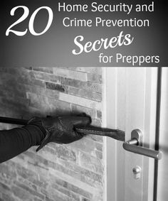 These days crime is rampant. If SHTF or a disruptive event occurs, it will get worse. Here are 20 crime prevention secrets for preppers. Good to know!
