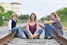 Family urban portrait