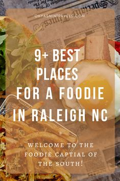 i  can be the first to tell you as an avid eater, that Raleigh is KEY for a food adventures. Here are nine of my favorite places as a foodie in Raleigh NC! Zermatt, Travel Usa, Travel Tips, Travel Destinations, Travel Guides, Travel Advisor, Travel Goals, Canada Travel, Luxury Travel