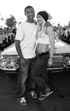 Pharrell Williams and Gwen Stefani