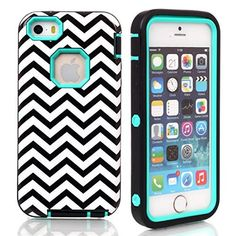 iPhone 5s case,iphone 5 case,Lantier Wave Pattern [ 3 in 1 Shield Series ] Hybrid Case with Soft Silicone Inner and Hard PC Outer Cover Case for Apple iPhone 5/5s Mint Green, http://www.amazon.ca/dp/B0180PJQNS/ref=cm_sw_r_pi_awdl_0m42wb0R0EP6E