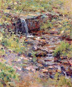 The Athenaeum - Cascading Brook (Robert Lewis Reid - )