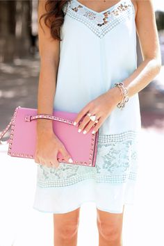Mint Lace Dress...