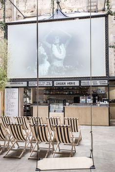 Sala equis, rehabilitation of the oldest x cinema in Madrid by Plantea Estudio. Photograph © Alicia Macias