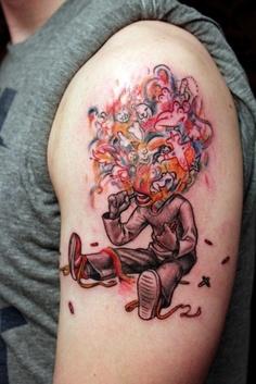 Funny tattoo. #tattoo #tattoos #ink