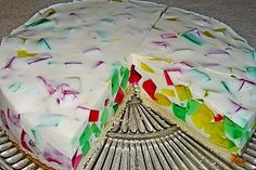 Colorful jellyfish cake by xyinkwh Delicious Cake Recipes, Yummy Cakes, Cake & Co, Best Food Ever, Food Humor, Macaron, How Sweet Eats, Cute Food, Cakes And More