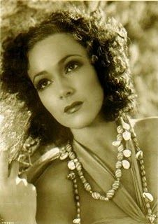 Dolores Del Rio was a Mexican film actress. She was a star in Hollywood in the 1920s and 1930s, and was one of the most important female figures of the Golden Age of Mexican cinema in the 1940s and 1950s. She was considered one of the most beautiful women of her time, a mythical figure in Latin America and quintessential representation of the feminine face of Mexico in the world,  http://www.ninaohmanarts.com/