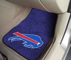 "NFL - Buffalo Bills 2-piece Carpeted Car Mats 17""x27"""