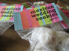 A traditional Mexican Wedding Cookie