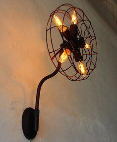 zhongshan lighting metal Fan Shape with 5 edison Bulb Industrial Loft wall Lamp/light/lighting, View Industrial wall light, sunlight Product Details from Zhongshan Sunlight Lighting Factory on Alibaba.com