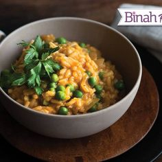 Classic Vegetable Risotto. Risotto is similar to pasta in that it fluffs up, absorbing a lot of flavor from the vegetable stock. It might require your full attention while cooking, but it is well worth the effort to get that creamy texture. #kosher   www.kosher.com