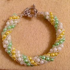 Hand made bracelet from Try Something Different