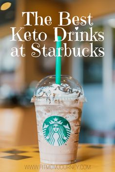 Not sure what is keto-friendly at Starbucks? These are the best keto Starbucks drinks whether you like simple and strong coffee and sugary cold drinks. The Keto Coffee Starbucks Edition is here!