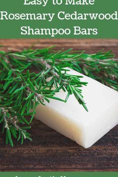 Diy Shampoo, Homemade Shampoo, Shampoo Bar, Homemade Conditioner, Cedarwood Essential Oil, Essential Oils, Homemade Soap Recipes, Homemade Art, Lotion Bars