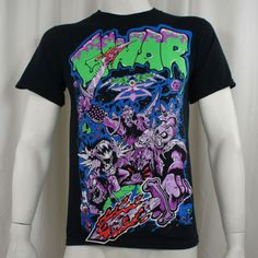 Authentic-GWAR-Band-Alien-Decapitation-Dave-Brockie-T-Shirt-S-M-L-XL-XXL-NEW