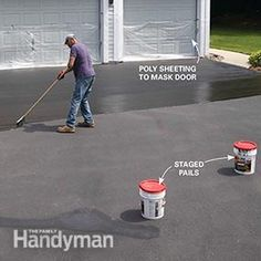 Seal your asphalt driveway correctly and it could last up to 30 years. Asphalt Driveway Repair, Blacktop Driveway, Driveway Sealing, Driveway Resurfacing, Asphalt Repair, Driveway Apron, Driveway Sign, Driveway Landscaping, Driveway Ideas