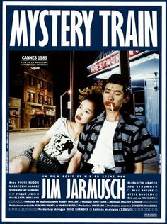 Mystery train movie poster from Germany