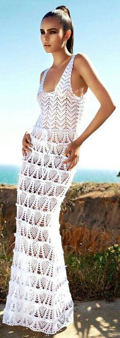017be49c8440 243 best Crochet Wedding Dresses images | Crochet clothes, Crochet ...