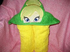 Hooded Towel Fairy Princess Towel can be personalized for by 4Brig, $25.00