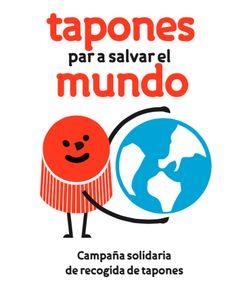 Otra imagen de nuestra campaña solidaria de reciclaje de tapones