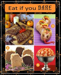 Yummy Recipes a for Spooky Halloween Supper