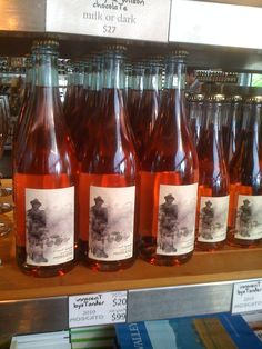 Red Moscato wine from the valley area. Picture taken in Victoria Australia.