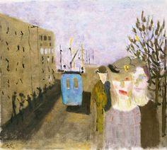 Ragnar SANDBERG (1902-1972) - Den blå bussen,1938
