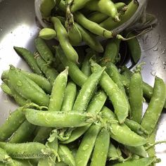 The bounty of the farmers market with pods to shell - fava beans and spring peas. Lots of work, but so worth it.