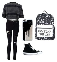 """""""Untitled #24"""" by spikeytwister on Polyvore featuring Brunello Cucinelli, Miss Selfridge and Converse"""