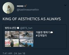 if namjoon isnt the king of aesthetics then i dont know TT: @taeilmesomethin