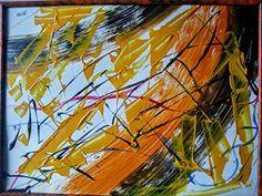 SENTIMIENTO...Cartulina acrílica pintada 30x40cm