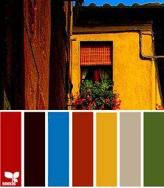 Vivid Tuscan Decorating Colors