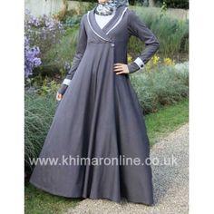Coat Flare - Casual Abayas, Sporty Abayas, Designer Abayas, Trendy Abayas, Buy online with Kimar UK