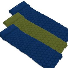 Ultralight Sleep Pad Pro - Ultralight Sleep Pad Pro™ 3 Pack / Army,Blue,Blue
